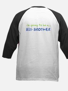 i know something big brother Kids Baseball Jersey
