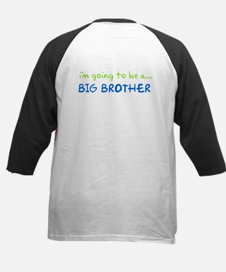 i know something big brother Kids Baseball Jersey