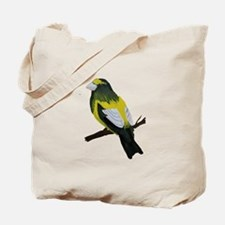 Evening Grosbeak Tote Bag