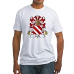 Cecile Family Crest Fitted T-Shirt