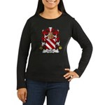 Cecile Family Crest Women's Long Sleeve Dark T-Shi