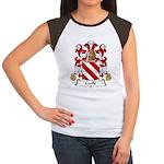Cecile Family Crest Women's Cap Sleeve T-Shirt
