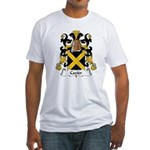 Cazier Family Crest Fitted T-Shirt