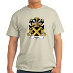 Cazier Family Crest Light T-Shirt