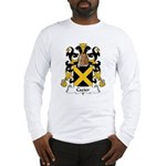 Cazier Family Crest Long Sleeve T-Shirt