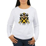 Cazier Family Crest Women's Long Sleeve T-Shirt