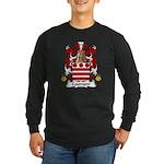 Caumont Family Crest Long Sleeve Dark T-Shirt