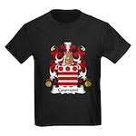 Caumont Family Crest  Kids Dark T-Shirt