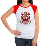 Caumont Family Crest  Women's Cap Sleeve T-Shirt