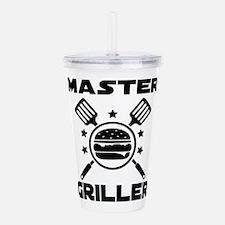 Master Griller Acrylic Double-wall Tumbler