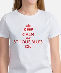 Keep Calm and St. Louis Blues ON T-Shirt