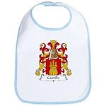 Castille Family Crest Bib
