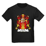 Castille Family Crest Kids Dark T-Shirt