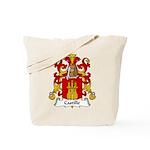 Castille Family Crest Tote Bag