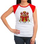 Castille Family Crest Women's Cap Sleeve T-Shirt