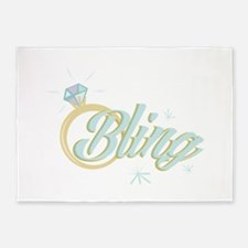 Bling 5'x7'Area Rug