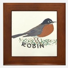 Robin Framed Tile