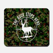 Buck Stops Here Mousepad