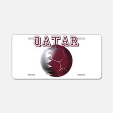 Qatar Football Aluminum License Plate
