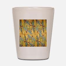 Dragonfly Golden Haze Shot Glass