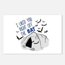 Right Off The Bat Postcards (Package of 8)