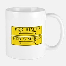 Per Rialto & San Marco, Venice, Italy Mug