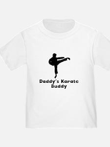 Daddys Karate Buddy T-Shirt