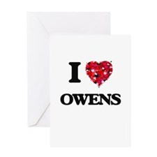 I Love Owens Greeting Cards