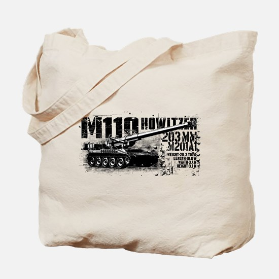 M110 howitzer Tote Bag