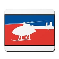 Feedom Helicopter Mousepad