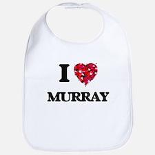 I Love Murray Bib