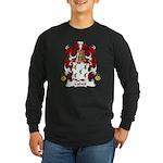 Calvet Family Crest Long Sleeve Dark T-Shirt