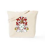 Calvet Family Crest Tote Bag