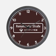 Romantische Strasse, South Germany Wall Clock