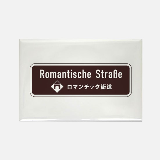 Romantische Strasse, South German Rectangle Magnet
