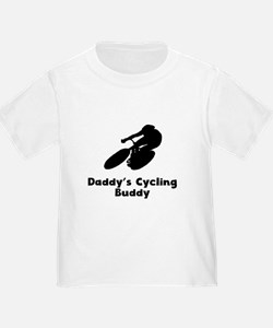 Daddys Cycling Buddy T-Shirt