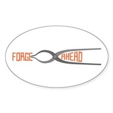 Forge Ahead Decal