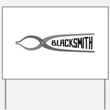 Blacksmith Yard Sign