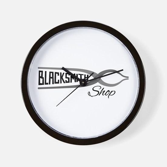 Blacksmith Shop Wall Clock