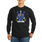 Callot Family Crest Long Sleeve Dark T-Shirt