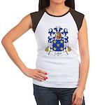 Callot Family Crest Women's Cap Sleeve T-Shirt
