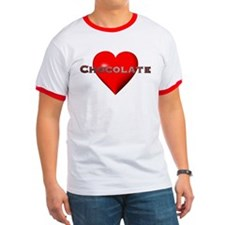 Chocolate Red Heart T