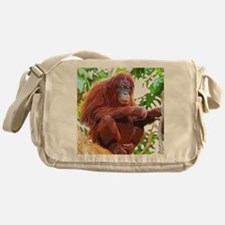Painted Orang Messenger Bag