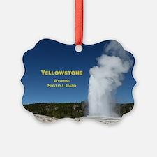 Yellowstone Ornament