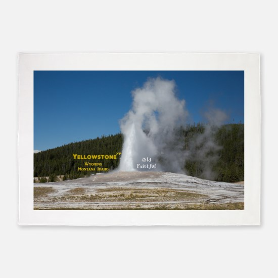 Yellowstone 5'x7'Area Rug