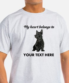Personalized Scottish Terrier T-Shirt