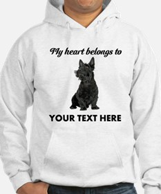 Personalized Scottish Terrier Hoodie