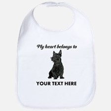 Personalized Scottish Terrier Bib