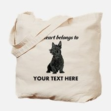Personalized Scottish Terrier Tote Bag