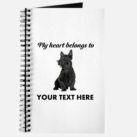 Personalized Scottish Terrier Journal